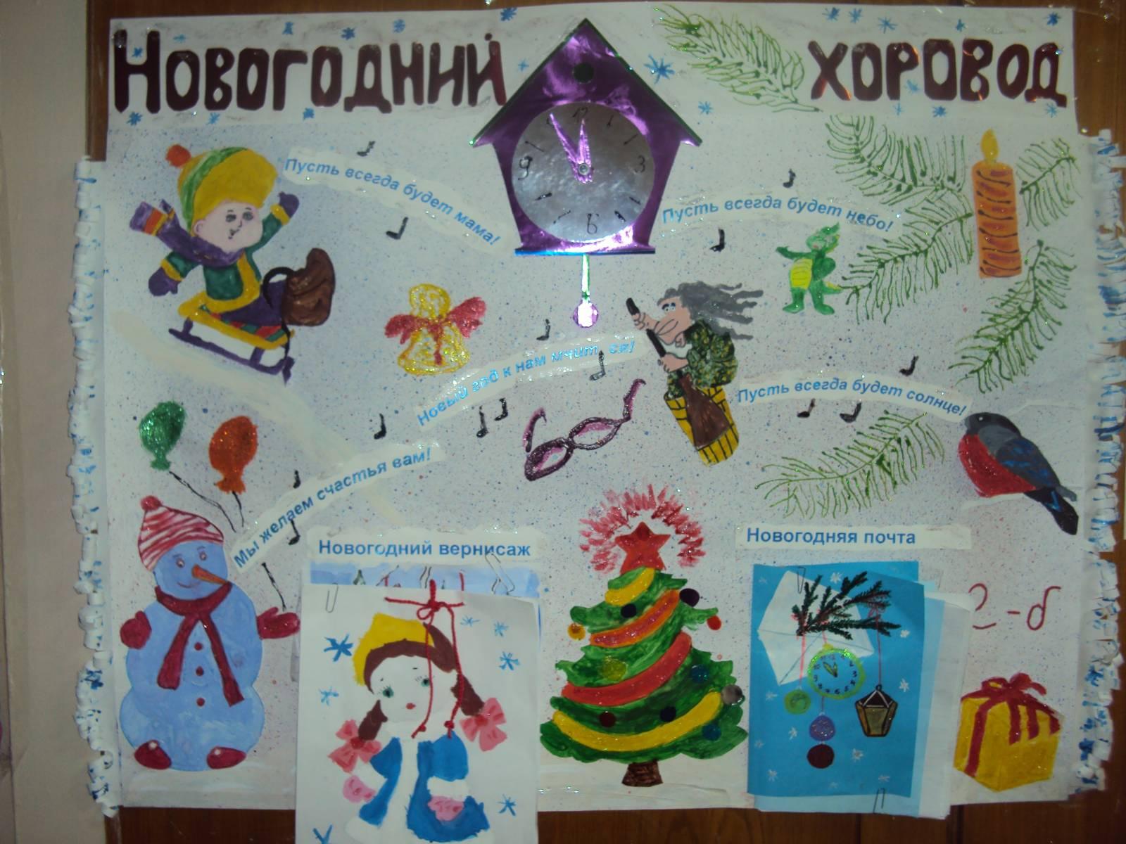 Новогодние стенгазета 2015 своими руками